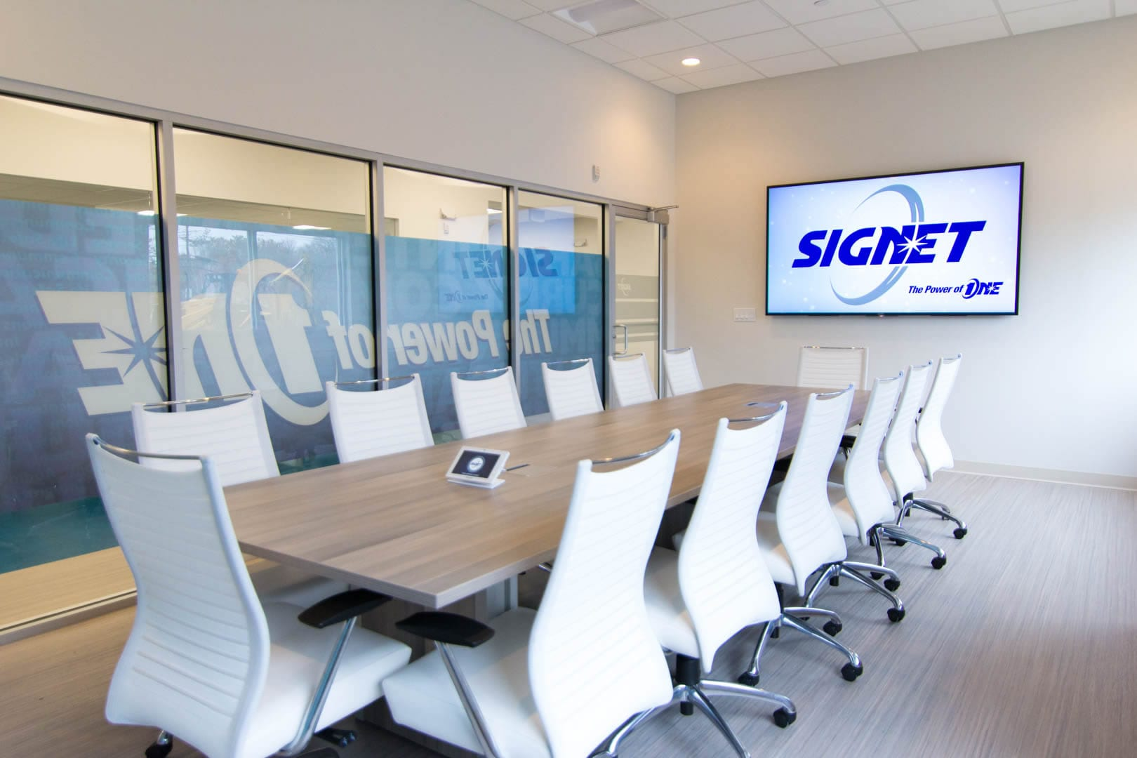 SIGNET New conference room