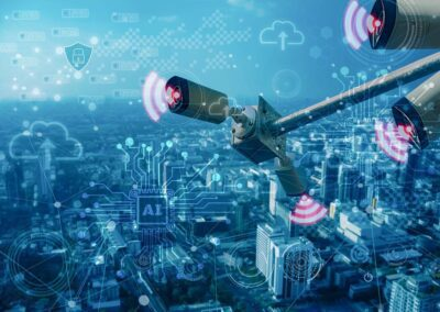 Wireless Point-to-Point Technology Unifies Security Cameras Across the City